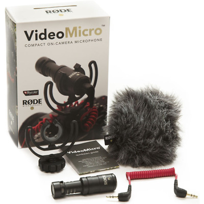 £54 • Buy Rode VideoMicro Video Micro Compact On-Camera Microphone