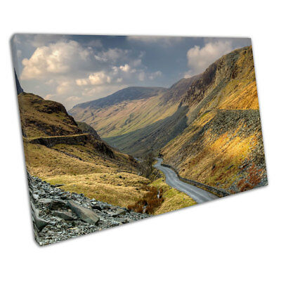 £37.40 • Buy Keswick Honister Pass Slate The Lake District Cumbria Ready To Hang Canvas X1405