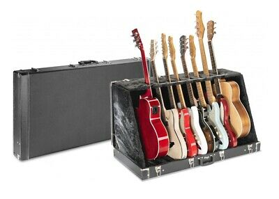 $ CDN291.14 • Buy STAGG UNIVERSAL MULTI GUITAR STAND CASE - HOLDS 8 ELECTRIC Or 4 ACOUSTIC GUITARS