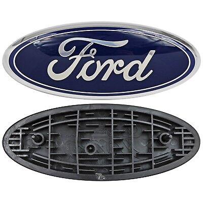 $21.99 • Buy Ford Truck Logo Oval Front Grill Emblem Badge Replacement 9  X 3.5  Symbol Trim