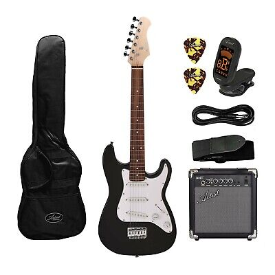 AU209 • Buy Artist MiniS 3/4 Size Electric Guitar + Accessories +10 Watt Amp - New