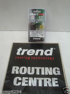 £29.85 • Buy Trend C152 Tct Bearing Guided One Piece Biscuit Jointer Set 1/2  Shank