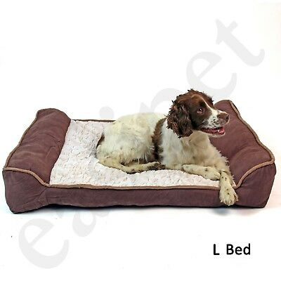Deluxe Orthopaedic Soft Dog Pet Warm Sofa Bed Pillow Cushion Chair Large Easipet • 29.99£
