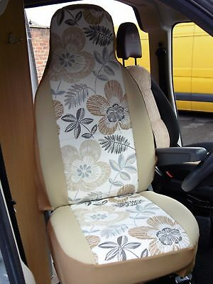 Suitable  For A Peugeot Boxer Motorhome, 2005, Seat Covers, Nancy Mh-194 • 79.99£