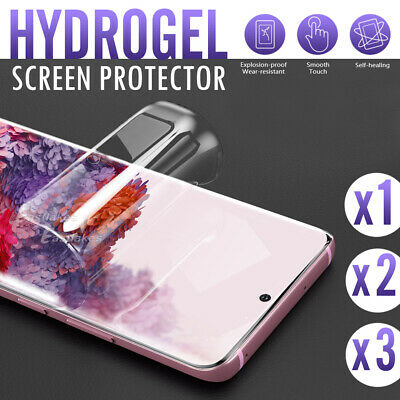 AU4.95 • Buy For Samsung Galaxy S10 5G S9 S8 Plus Note 8 9 20 HYDROGEL Full Screen Protector