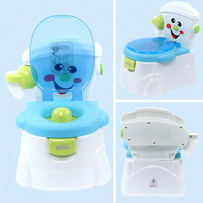 2 In 1 Kids Toilet Seat Baby Toddler Training Potty Trainer Safety Urinal Chair • 8.99£
