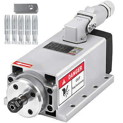 $103.99 • Buy CNC 1.5KW Air Cooled Spindle Motor ER11 24000rpm Air Cooled Mill Grind Engraving