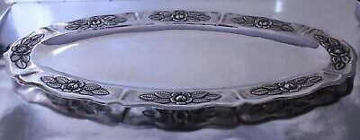 $1100.75 • Buy Sterling Silver Fish Platter By Maciel Silver Factory, Mexico City 1930s