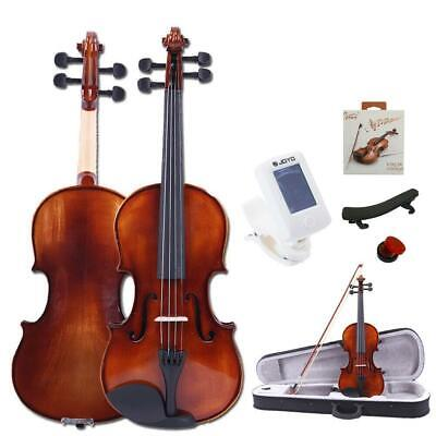 $59.99 • Buy New Glarry 4/4 Full Size Spruce Wood Practice Violin With Case Bow Extra Strings