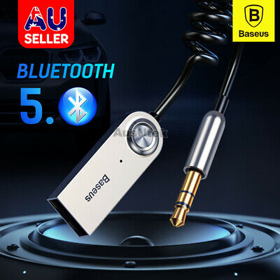 AU16.99 • Buy Baseus Wireless Bluetooth 5.0 Receiver Dongle Car AUX 3.5mm Adapter Cable