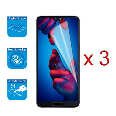 For Huawei P20 Pro / Plus - Screen Protector Cover Guard LCD Film Foil X 3 • 1.99£