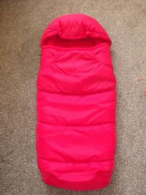 ICandy Raspberry Footmuff  In Red New  • 36.90£