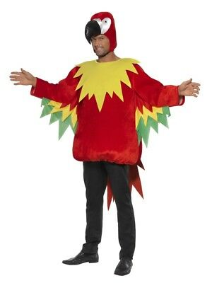 NEW Parrot - Wild Jungle Exotic Bird Animal Party Fancy Dress Halloween Costume • 24.99£