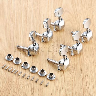 $ CDN9.61 • Buy 1Set Alloy Guitar Tuning Pegs Keys Tuners Machine Heads For Electric Guitar