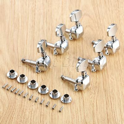 $ CDN10.43 • Buy 1Set Alloy Guitar Tuning Pegs Keys Tuners Machine Heads For Electric Guitar