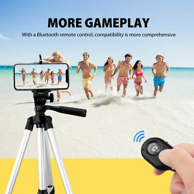 AU16.95 • Buy Universal Telescopic Camera Tripod Stand Holder Mount For Phone IPhone Samsung