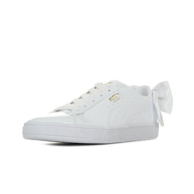 09df4efc7ee7e Chaussures Baskets Puma Femme Basket Bow Patent Wn's Taille Blanc Blanche •  49.99€
