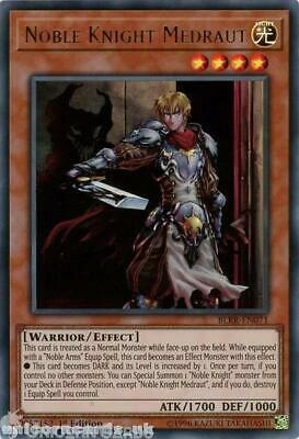 BLRR-EN071 Noble Knight Medraut Ultra Rare 1st Edition Mint YuGiOh Card • 0.99£