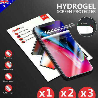 AU4.95 • Buy EASTele HYDROGEL Screen Protector For Apple IPhone 12 11 Pro XS Max XR 8 7 Plus
