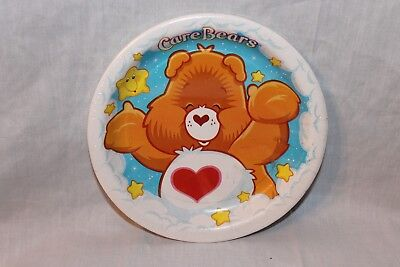 New  In Package Care Bears 8 Dessert Plates  Clouds Party Supplies   • 4.49£