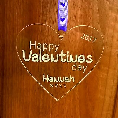 AU10.98 • Buy Valentines Gifts For Him And Her - Personalised Decoration, Happy Valentines Day