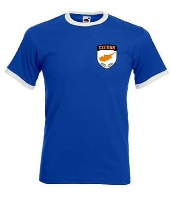 £9.99 • Buy Cyprus Cypriot National / Football Soccer Team T-Shirt All Sizes