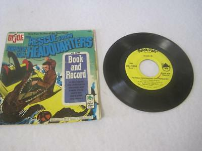 $ CDN17.01 • Buy 1973 GI Joe Record Book Peater Pan 45 Rescue From Adventure Team Headquarters