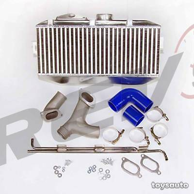 $266 • Buy Rev9 Top Mount Intercooler +Y Pipe +AC Line For WRX STi 02-07, Forester XT 04-08