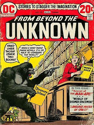 Comic Book Cover Beyond Unknown Robber Monkey Canvas Art Print • 16.50£