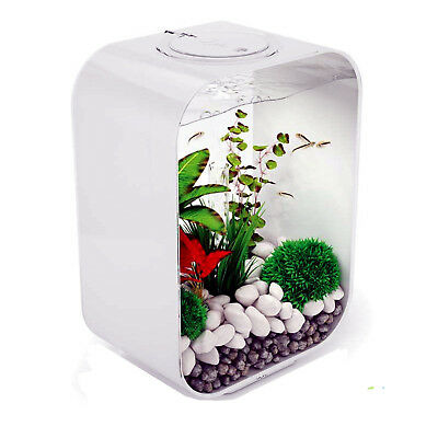 BiOrb Life 15L White Aquarium MCR With LED Lights • 129.99£