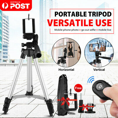 AU16.95 • Buy Adjustable Camera Tripod Mount Stand Holder For IPhone 12 Samsung S10 Note 10
