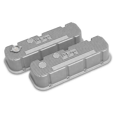 $290.95 • Buy Holley 241-150 Natural Tall Finned M/T Valve Covers For Big Block Chevy Engines
