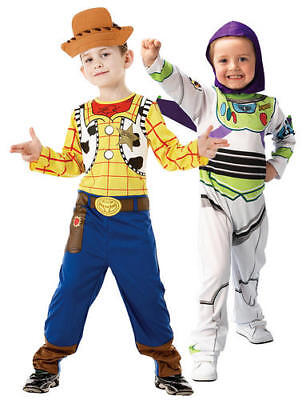 £10.46 • Buy Disney Buzz Or Woody Toy Story Boys Costume Book Week Fancy Dress Character New