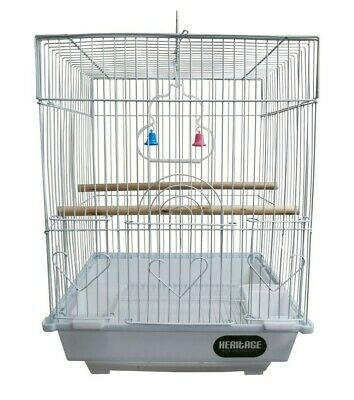 £14.50 • Buy Heritage Cages Warwick Budgie Finch Bird Cage 30x23x39CM Budgies Canary Small