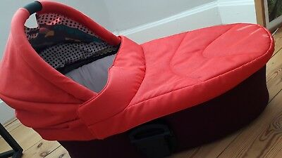 £30 • Buy Mamas & Papas Red Sola 2 Carrycot