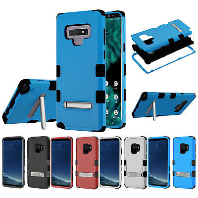 $ CDN19.62 • Buy For Samsung Galaxy Note 9 TUFF Rugged Dual Layer Case Cover Kickstand+PryTool