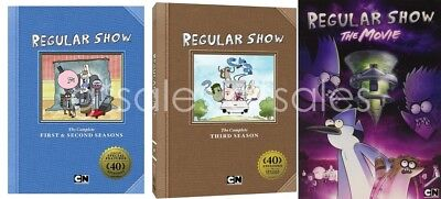 The Regular Show TV Series Complete Seasons 1-3 (1 2 3) + The Movie NEW DVD SET • 57.85£