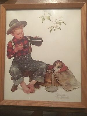 $ CDN25 • Buy Norman Rockwell Print Boy & Dog