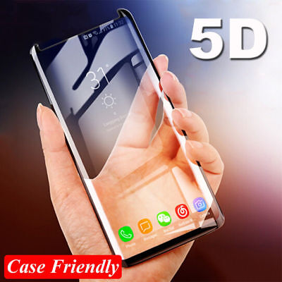 $ CDN3.03 • Buy Curved Tempered Glass Screen Protector For Samsung Galaxy S7 Edge S8 S9 Note 9 8