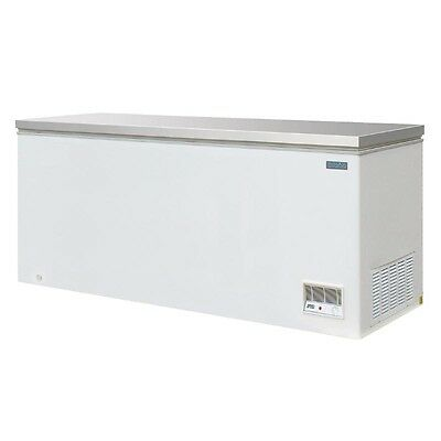 Polar Chest Freezer With Stainless Steel Lid 587 Litre Commercial Catering CM532 • 895.50£