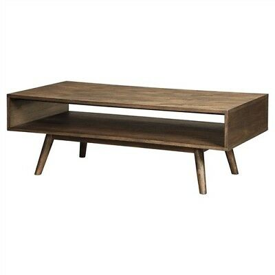 $360 • Buy Modern Mid-Century Style Coffee Table In Light Brown Wood Finish