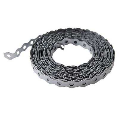 £6.15 • Buy Galvanised Steel Fixing Band 17mm X 10m Support Securing Strapping Cable DIY New