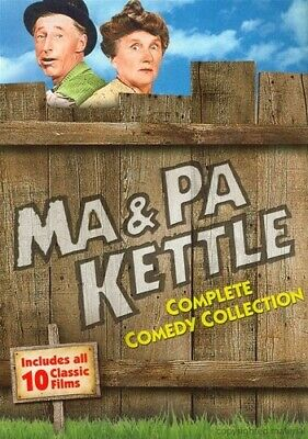 $9.85 • Buy Ma And & Pa Kettle Complete 10 Film Series DVD Boxed Set Movie Collection NEW!