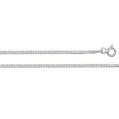 £8.50 • Buy 925 Sterling Silver CURB Chain Necklace 16 18 20 22 24  Inch - NEW - **1.5mm**