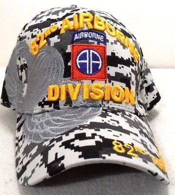 Military Ball Cap 82nd Airborne Division Army Hat Digital Camouflage • 8.50  341d63f7cb6