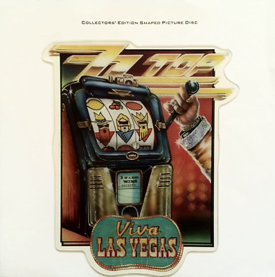 ZZ Top - Viva Las Vegas (7 ) (Shaped Picture Disc) (EX-/EX) • 21.99£