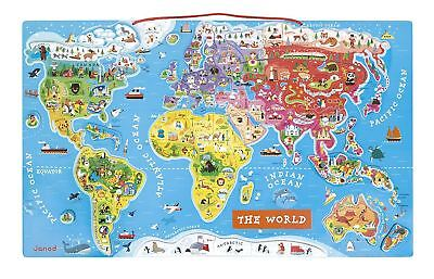 Juratoys Magnetic World Map Puzzle - J05504 • 31.99£