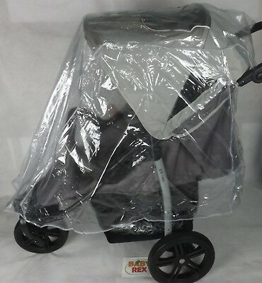 NEW RAINCOVER RAIN COVER FOR LARGE PUSHCHAIR HAUCK  Shopper Neo 2 • 12.69£