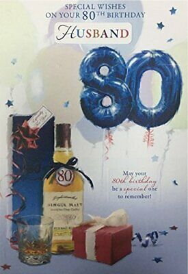 £3.95 • Buy 80Th Birthday Card Brother-in-Law Uncle Dad Brother Husband Grandad
