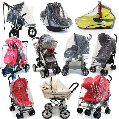NEW Raincover For Pram Buggy Carrycot Carseat Stroller Coach Built Travel System • 8.95£